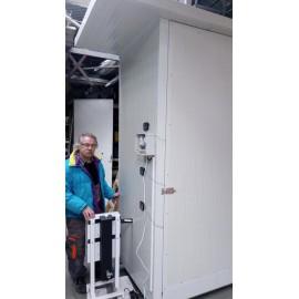 Füstgenerátor hidegfüstöléshez - kisipari kivitel 2000 literes füstölőszekr