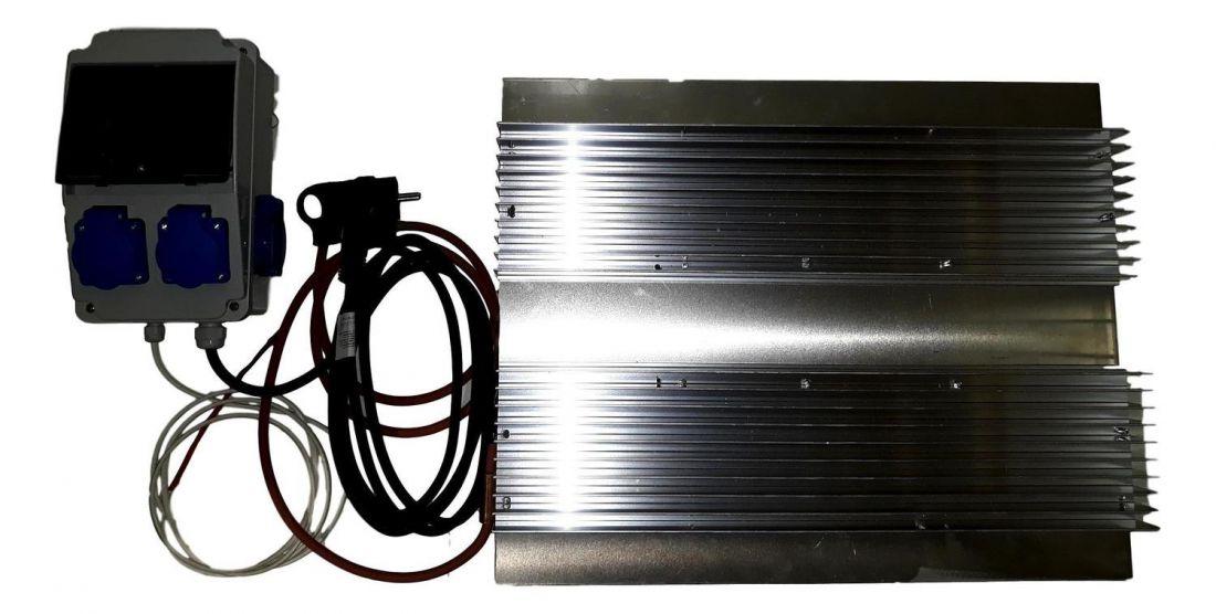 Hőfok-szabályozott fűtés füstölőbe - max. 1000 watt